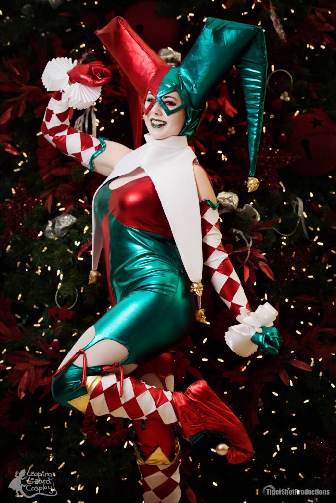 Harley Quinn Christmas.Ame Comi Christmas Harley Quinn Cosplay Build Blog Leaping