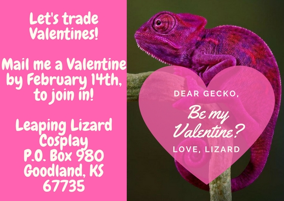 Pink Blue Hearts Pattern Valentine's Day Card(2)
